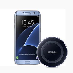 Samsung Galaxy S7 Edge 64gb Azul + Cargador Inalámbrico
