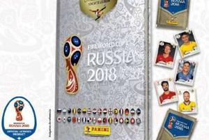 Album Pasta Dura Platinum + 100 Estampas Rusia  Panini