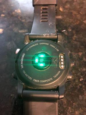 Fenix 3 Hr Sapphire (incluye Extensible Metálico) Cambio