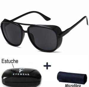 Lentes Matsuda Iron Man Tony Stark Dita All Black Sol