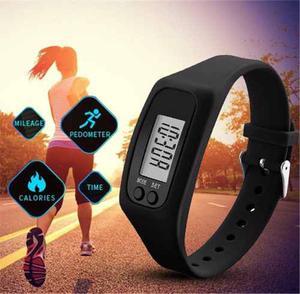 Reloj Podometro Digital Reloj Cuenta Pasos,caloria,distancia