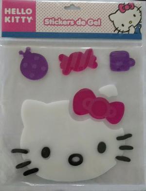 Sticker De Gel De Hello Kitty. Envío Gratis