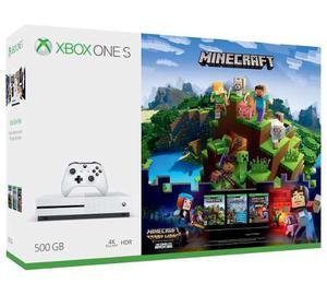 Xbox One S 500gb Con Juego Minecraft Nuevo A Msi