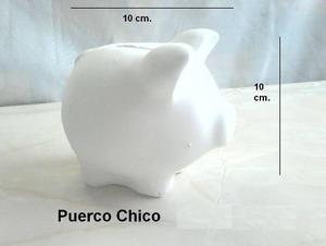 Figuras De Ceramica Para Pintar Alcancia De Puerquito