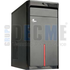 Gabinete Xtech Xtq-108 Micro Atx 500w Negro