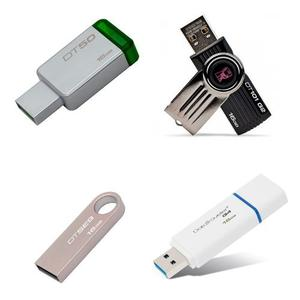 Kingston Kit Lote 100 Piezas Memoria Usb 16gb Mayoreo Oferta