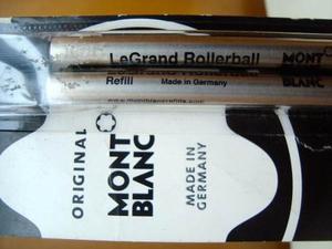 Montblanc 2 Repuestos Para Legrand Rollerball Trazo Medio