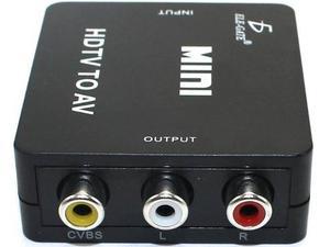Adaptador Convertidor Hdmi A Rca p Tv Av Audio Ele-gate