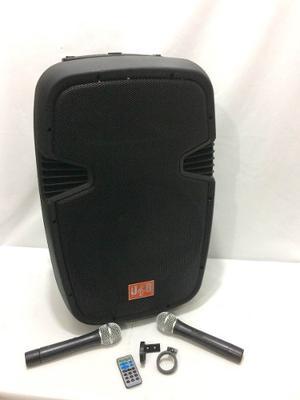Bocina Amplificada Recargable 15 Pg Con Microfon J&b Jsb-146