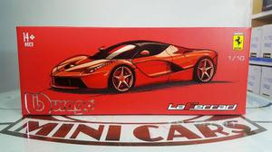La Ferrari Exclusive 1/18 Bburago Maisto Autos Escala Metal