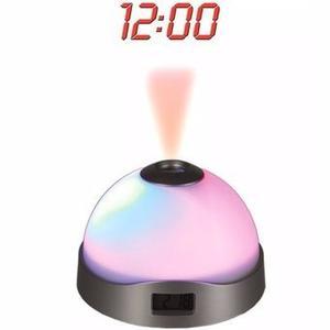 Reloj Despertador Con Proyector De Estrellas Y Hora Enviogra