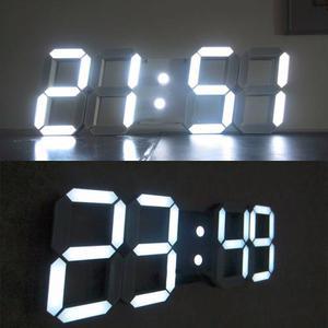 Reloj Led Despertador 3d, Formato  Hrs