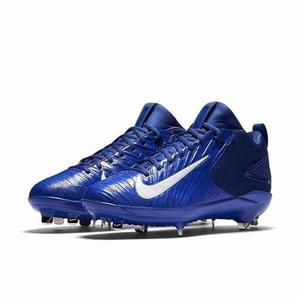 Spikes De Beisbol Nike Zoom Trout 3 Azul Rey Metal # 28.5 Mx