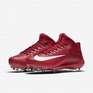 Spikes De Beisbol Nike Zoom Trout 3 Rojo Bota Metal # 27 Mx