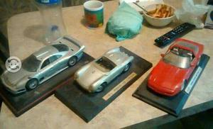 Autos deportivos a escala de coleccion