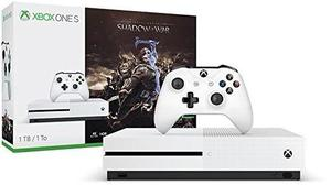 Consola Microsoft Xbox One S 1tb + Shadow Of War