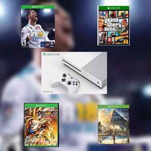 Xbox One S 500 Gb Nuevo + Un Juego Alejir Envio Gratis