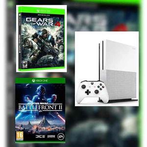Xbox One S 500 Gb Reacondiconada + Juego A Elegir Envio Gra
