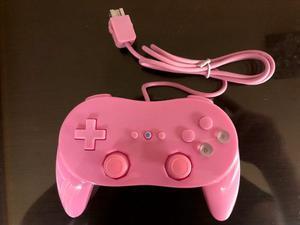 Control Classic Pro Wii Rosa Nuevo Envio Gratis