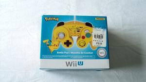 Control Hori Tipo Gamecube Para Wii Wii U Edicion Pikachu