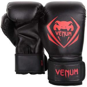 Guantes De Box 16 Oz./ Muay Thai Venum Contender Negro/rojo