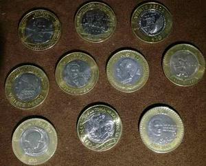 Monedas De 20 Pesos Cuál Te Falta!!!