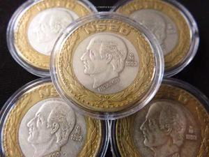 Plata 20 Nuevos Pesos Hidalgo  Capsula De Regalo