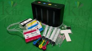 Sistema De Tinta Compatible Para Hp  Hp 932 Hp933 Vacio