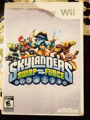 Skylanders Swap Forcé Para Wii + Portal + 3 Figuras