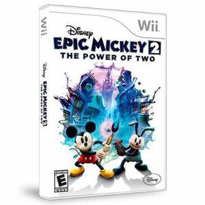 Vg - Epic Mickey 2 - El Poder De 2 Wii