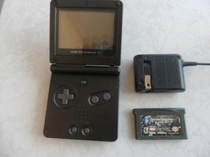 Gameboy Advance Sp Negro + Cargadr + 1 Juego Chécalo