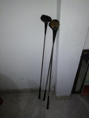 Palos De Golf Marca Burke Del Numero 1,3 Y 4