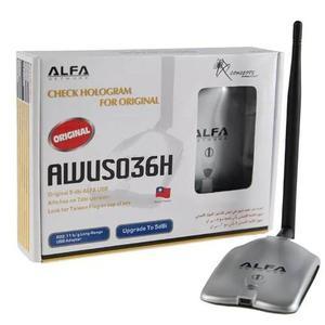 Antena Repetidor Wifi Alfa Awus036h 5dbi Usb Te939