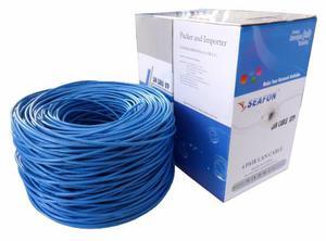 Bobina De Cable Para Red Utp Rjm Cat5 Seafon