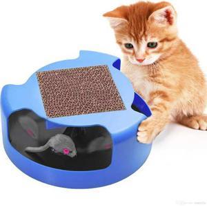 Juguete Para Gatos Con Rascador Y Raton Movil Oxgord