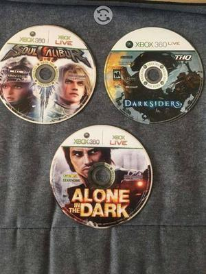 Lote de juegos para Xbox 360