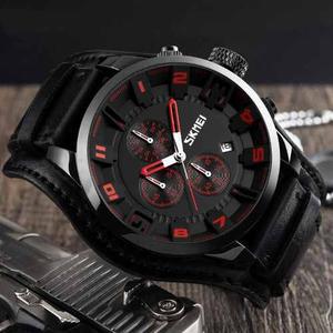 Reloj Militar Moderno Hombre Skmei Cronógrafo Funcional
