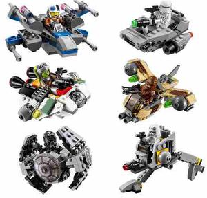 Starwars 6 Naves Compatibles Rogue One Micro Fighters