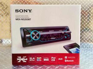 Auto Estéreo Sony Mex-nbt Bluetooth Multicolor Usb Mp3