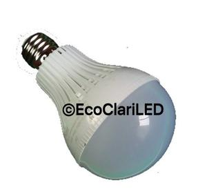 Foco Led 7 Watts Lampara Bombilla Bulbo E26 / E27 Bw7