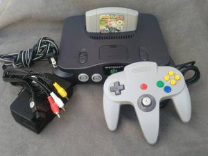 Nintendo 64 Con Super Mario 64, N64