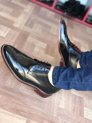 Zapato Bostoniano Caballero Piel