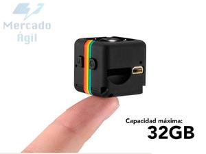 Mini Camara Espia Vision Nocturna Dvr p 12 Mp Recargable