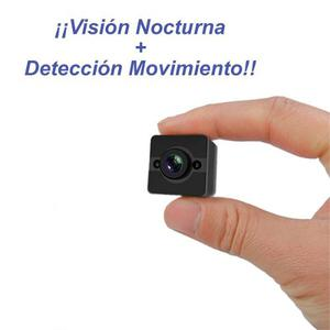 Mini Camara Full Hd Dron Detector Movimiento Vision Nocturna