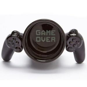 Taza Gamer De Ceramica Control Video Juegos Game Over H