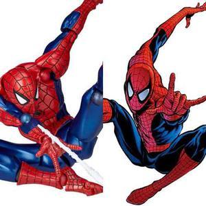 Amazing Spiderman Yamaguchi Revoltech 02 No Mafex En Stock !