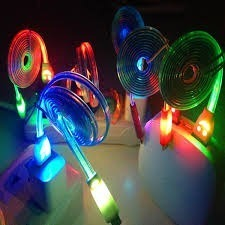 Cable Usb V8 Luminoso Luz Led Mayoreo Y Menudeo G R
