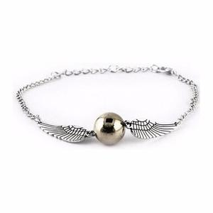 Harry Potter Snitch Pulsera Golden Coleccionable