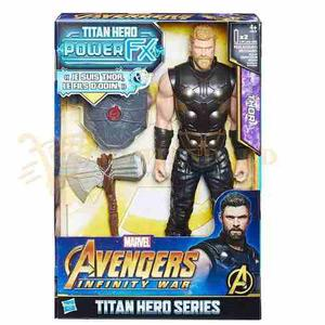 Marvel Avengers Infinity War Thor Titan Hero Power Fx