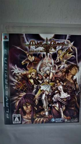 Ps3 Mist Of Chaos Videogame Japones Juego Anime Rpg